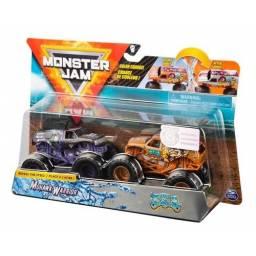 Monster Jam - Vehículos 1:64 Pack X2  Jester 58702