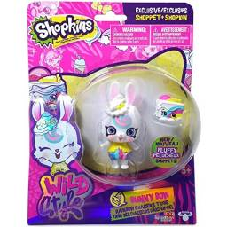 Shopkins - Shoppets Muñeca + Shopkins Bunny Bow 56978