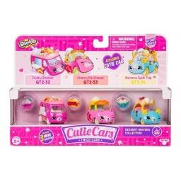 Cutie Cars - Vehículo X 3  56737-56740