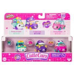 Cutie Cars - Vehículo X 3  56737-56739