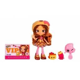 Shoppies - Muñeca + 2 Shopkins Exclusivos Coco Cookie 56706