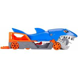 HOT WHEELS - Monster Trucks Remolque Tiburon gvg36