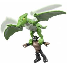 Fisher Price - Imaginext Jurassic World Figuras FMX92-FXT33