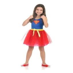 Dc Comics Disfraz Supergirl Talle 10 - 12 Años 16310G