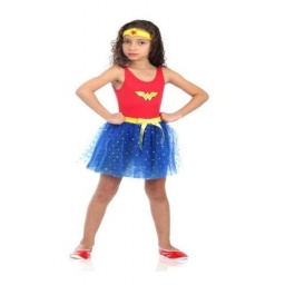 Dc Comics Disfraz Mujer Maravilla 10-12 Años 16308G
