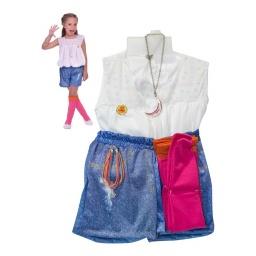 Soy Luna Disfraz Talle 3- 4 Años Cad2187