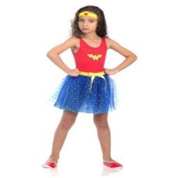 Dc Comics Disfraz Mujer Maravilla 3- 4 Años 16308P
