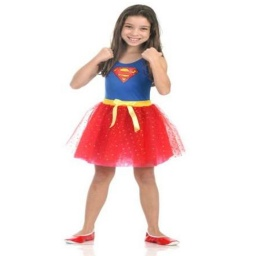 Dc Comics Disfraz Supergirl Talle 3- 4 Años 16310P