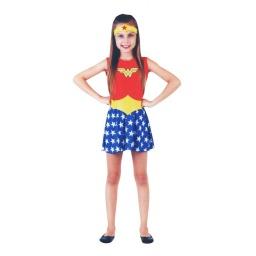 Dc Comics Disfraz Mujer Maravilla 3-4 Años 15061P