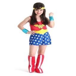 Dc Comics Disfraz Con Botas 3-4 Años Mujer Maravilla  22060P