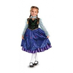 Frozen Disfraz Anna Viaje Talle 3-4 Años - 57005m