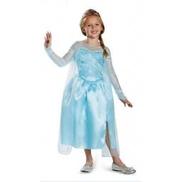 Frozen Disfraz Elsa Talle 7-8 Años - 76906k