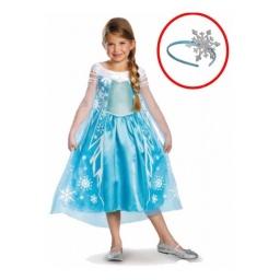 Frozen Disfraz Con Accesorio Elsa Talle 7-8 Años - 82562k