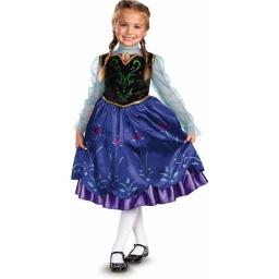 Frozen Disfraz Anna de Viaje - 7-8 Años - 57005k