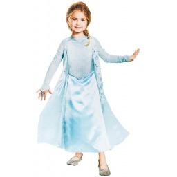 Frozen Disfraz Elsa Con Brillos 3-4 Años  98547M