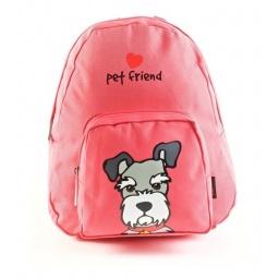 Pet Friends - Mochila 25 Cm Schnauzer Rosa 91202rs