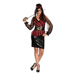 Adultos - Disfraz Pirata Galm Clásico Lentejuelas 70697b