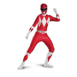 Power Rangers - Disfraz Rojo Para Adulto Cod. 55620C