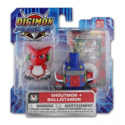 Digimon - Figuras Pack X 2 - 39620