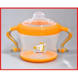 Fisher Price - Vaso Con Asas Y Pico De Silicona Fp201222