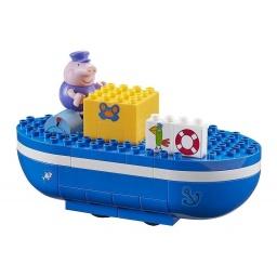 Peppa - Construcción Barco Del Abuelo Figuras 6034