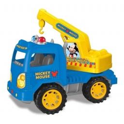 Mickey - Camión A Fricción  27092 Grua Azul