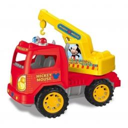 Mickey - Camión A Fricción 27092 Grua Rojo