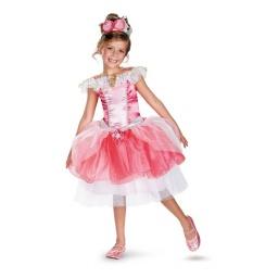 Disney Princesas - Disfraz Con Tutú Aurora 7 A 8 Años 39632k