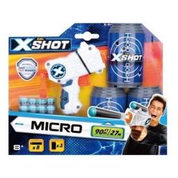 X Shot - Excel Micro Con Latas Y Dardos 3614