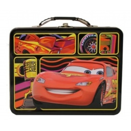 Cars - Lonchera De Metal Rojo 617667
