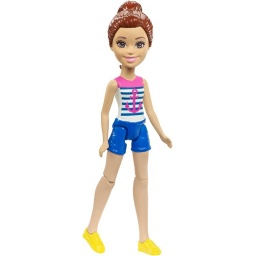 Barbie On The Go Muñeca Sailor Fashion Doll Fhv55-fhv58