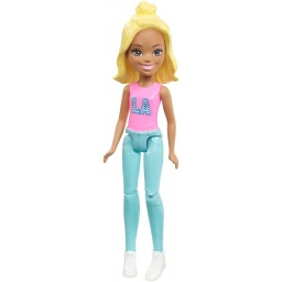 Barbie On The Go Muñeca Green Fashion Doll Fhv55-fhv57