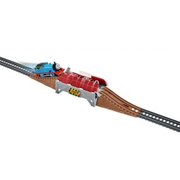 Fisher Price - Thomas & Friends Pack Brave Bridge Collapse  Bmk81-dfm63