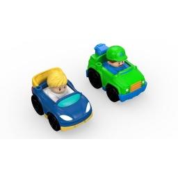 Fisher Price - Little People Wheelies Packx2Tow y Race Drh01-drh03