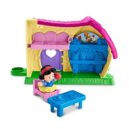 Fisher Price - Little People Disney Princesas Casa Blancanieves Fkw15-fkw16
