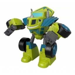 Fisher Price Blaze Robot Transformables Zeg  Ftb93-ftb94