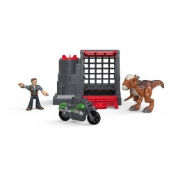Fisher Price -  Imaginext Jurassic World Vehículos Fmx88/fmx90