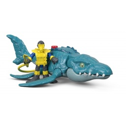 Fisher Price - Imaginext Jurassic World Vehículos Fmx88-fmx91