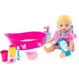 Muñeca Little Mommy - Baño De Burbujas Dtg64