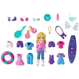 Polly Pocket! - Packs De Accesorios Gbf85-gbf86