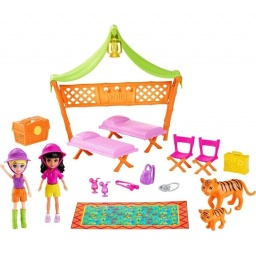 Polly Pocket! - Dia De Lluvia Y Campamento Safari Djb25