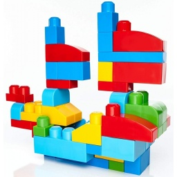 Mega Bloks - Bolsa Grande Clásica Dch63