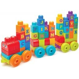 Mega Bloks - Abc Tren De Aprendizaje (60 Piezas) Dxh35