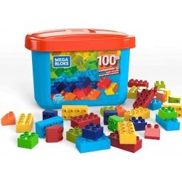 Mega Bloks - Mega Caja De Construcción Mini 100 Piezas Gjd21