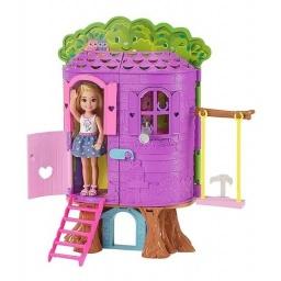 Barbie - Chelsea Casa Del Árbol Fpf83