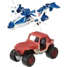 Matchbox - Jurassic World Pack Tierra Y Aire Dfw16