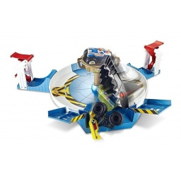 Hot Wheels - Monster Trucks Lucha Contra El Tiburón Fyk14