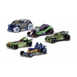 Hot Wheels - Batman Villanos X 5 Djp11