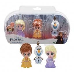 Frozen - Susurros y Brillos Mini Muñecas Packx3  Frn75