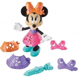Fisher Price-Minnie Brilla Y Diseña Dtt01